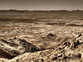 Wasteland in the Desert by ClymberPaddler