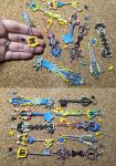 Keyblade Pendants by silverbeam