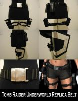Tomb Raider Underworld Gun Belt Replica by pbbunnybear