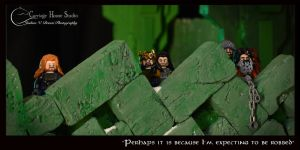 Lego Hobbit : Erebor Showdown by Jbressi