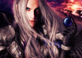 Final Fantasy VII - Sephiroth by Mustesielu
