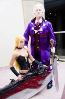 Trish and Sparda by KOCosplay