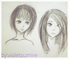 The hair story by VioletSumire