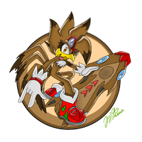 Roonie The Rooster RQ by JezzTheHedgehog