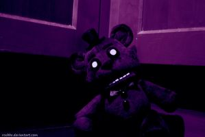 Five Nights At Freddy's Shadow Friend Til The End by roobbo