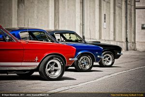 Three S-Code Fastbacks II by AmericanMuscle