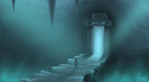 Mysterious Cave by PetraImboden