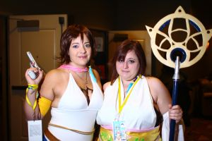 ColossalCon 2014 - Double Yuna by VideoGameStupid