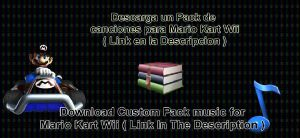 Download Custom pack music for Mario Kart Wii by I-G-imagination
