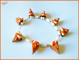 Orange cake bracelet by CookingMaru