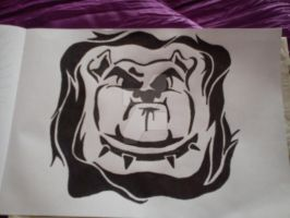 Bulldog 1 by fionachitauro