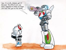 Wheeljack Invents LOL Cannon by The-Starhorse