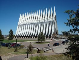 Air Force Academy Chapel 3 by Davidk1960
