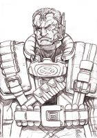 Daily Sketches Cable by fedde