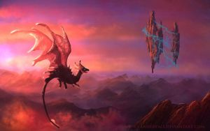 Huffy puffy dragon by vandervals