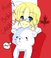 Happy Birthday Canada by Yue-e