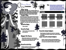 OC INFO SHEET-Stacey Slender by betlysquirrely
