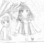 Torhu and Momji from Fruits Basket by Fran48