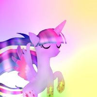 Princess Twilight Sparkle Rainbow Power by rainbowdash666666666