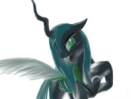 [MLP]The Queen Chrysalis by OswinOswaldArt