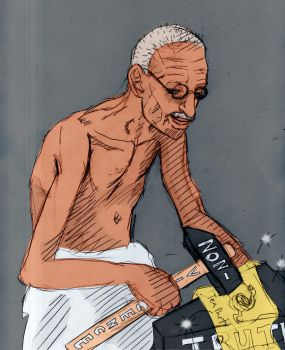 Tea Party and Gandhi's Hammer by Asderathos