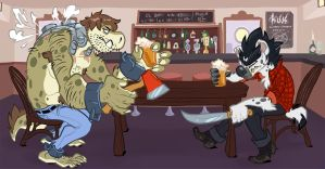 Analon walks into a bar... by frenzee
