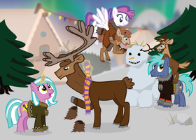 Bronycon 2015 Holiday Greeting Card by masemj