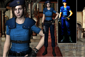 Jill Valentine - Retexturation HD [v.1.0] by Kukla-Factory