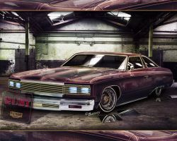 Lowrider Ruby by BarneyHH