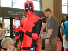 Deadpool and a jar - CTcon 2013 by jennasthings