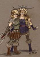 Because Viking Chicks are Hot by motega