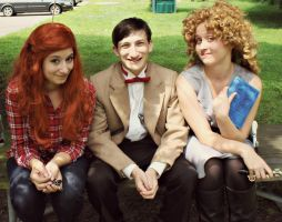 The Pond Girls and the Doctor by WickedLover010