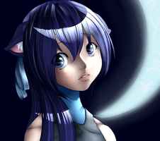 Moonlit Blue by LadyJumjum