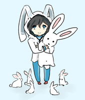 Husbando Request 154 - Bunnies by Piddlepoddle