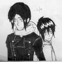 Yoite And Miharu by Horris-chan