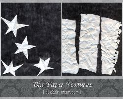 BIG PAPER TEXTURES SET 1 by DULC3