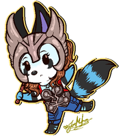 Chibi Pixel YCH: Thoranne Valodinson~ by ScottishRedWolf