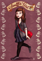 Souffle Girl by monkette