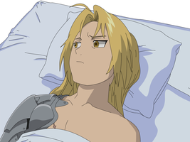 FMA - Sadness by damasktear