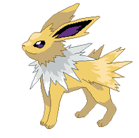 Jolteon by Rossay