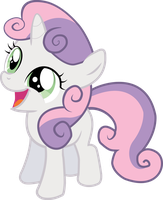 Happy Sweetie Belle is Happy! by Varuuna
