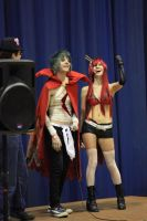 Yoko and Kamina 2 ^-^ by LilChickenWings