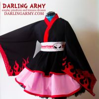 Yoko Littner Gurren Lagann Cosplay Kimono Dress by DarlingArmy