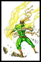 Iron Fist: Green Variant by pyroglyphics1