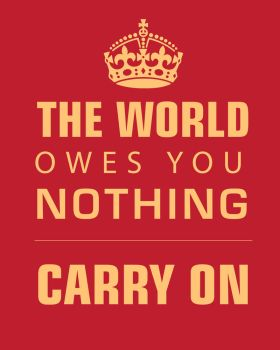 The world Owes you nothing by chib