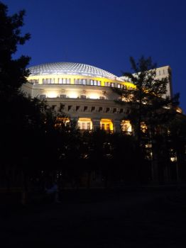 Novosibirsk Opera Theatre (night) by Aby-of-N-city