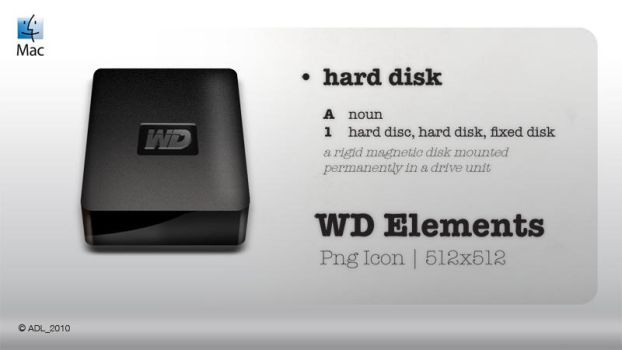 WD Elements Icon by AxlDeLarge