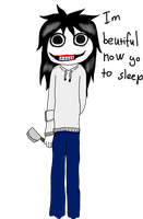 Finished in computer - Jeff the killer by Killerer2708