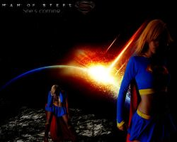 Man of Steel 2: She's Coming/Supergirl by blackstar329