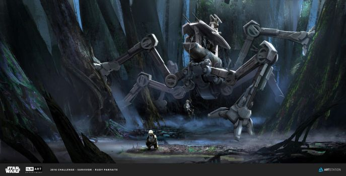 ILM Challenge - THE RIDE - The Swamp Spider by Dedyone